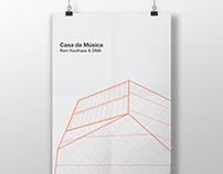 Architecture poster #26. Casa da Musica.