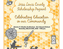 Miss Lewis County Program Cover