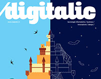 Cover Digitalic Magazine /01/2018 _n.69