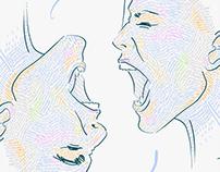 • bad communication •           illustration