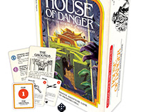 Create Your Own Adventure: House of Danger Board Game.