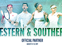 2019 Western & Southern Open | Autograph Poster