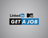 MTV Linkedin - Get a Job - Opening Animation