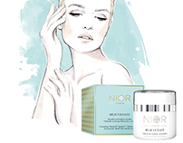 Beauty illustrations for Nior London