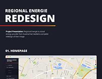 Regional Energie Website Redesign