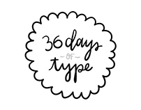 Calligraphy   36 days of Type