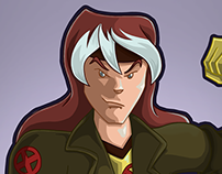 Rogue | Super Heroes Gender Bender Collab