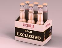 Packaging Cerveza Victoria
