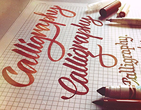 Brush Pen Calligraphy | Sketches Series