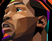 Kevin Durant / Low poly
