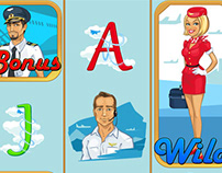 """Online video slot game for SALE - """"Airport"""""""