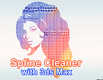Spline Cleaner with 3ds max