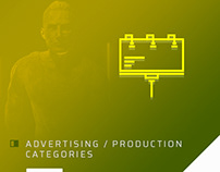 Traditional Advertising - Production Categories