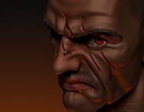 Quick Sculpt - Mean guy