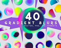 Blur gradient