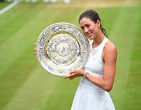 Garbine Muguruza Wins First Wimbledon Title