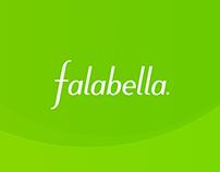Falabella Colombia Website Concept
