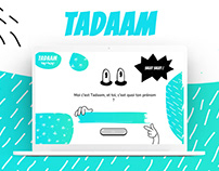 Numéridanse – Tadam   Website