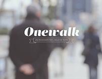 Onewalk: video & app simulation