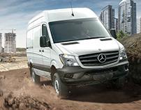Mercedes-Benz Sprinter Campaign