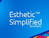 Esthetic Simplified Typography