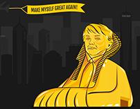 Donald Trump - make myself great again
