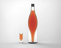 Poleg - existential cognac bottle