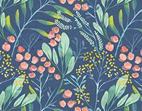 Flyleaf florals vol.II