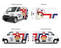 New Gran Max Blind Van with Our Super Grafis