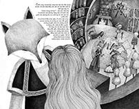 Illustration book: Annaliese by Sandra Bui