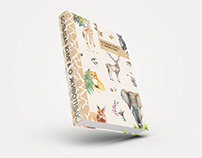 Trendy Cover for Children's Encyclopedia about Animals