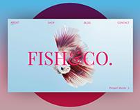Landing fish page