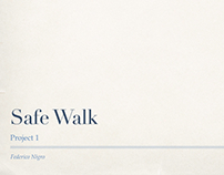 Safe Walk App