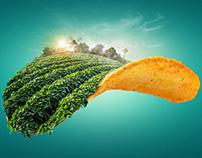 Potato Chips Billboard
