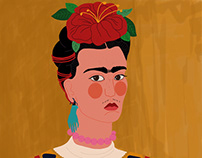 Frida Kahlo - Digital Illustration