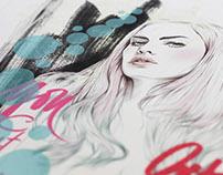 Miss Led Art Prints