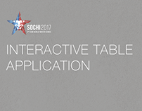 Interactive Table Application