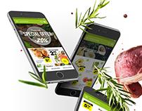 Market app concept