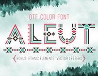 Tribal Aleut OTF color font