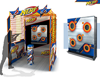 Nerf Shooting Range Display