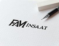 FAM İNŞAAT Logo ve Kurumsal Kimlik Çalışmaları