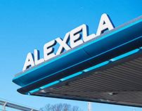 Alexela Gas Station redesign