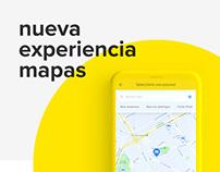 Experiencia Mapas