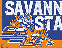 2015 Savannah State Football Poster