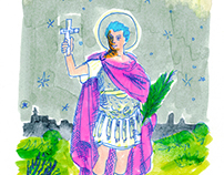 Saint Expedite, a tribute to New Orleans Voodoo