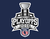 Federal Hockey League Playoff Logos (2016)