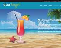 Duo Target: novo site