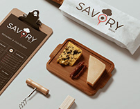 Brand | Savory | Restaurant & Food Delivery