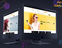 Smart Shop- E Commerce PSD Template