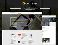 Crasiis corporate website